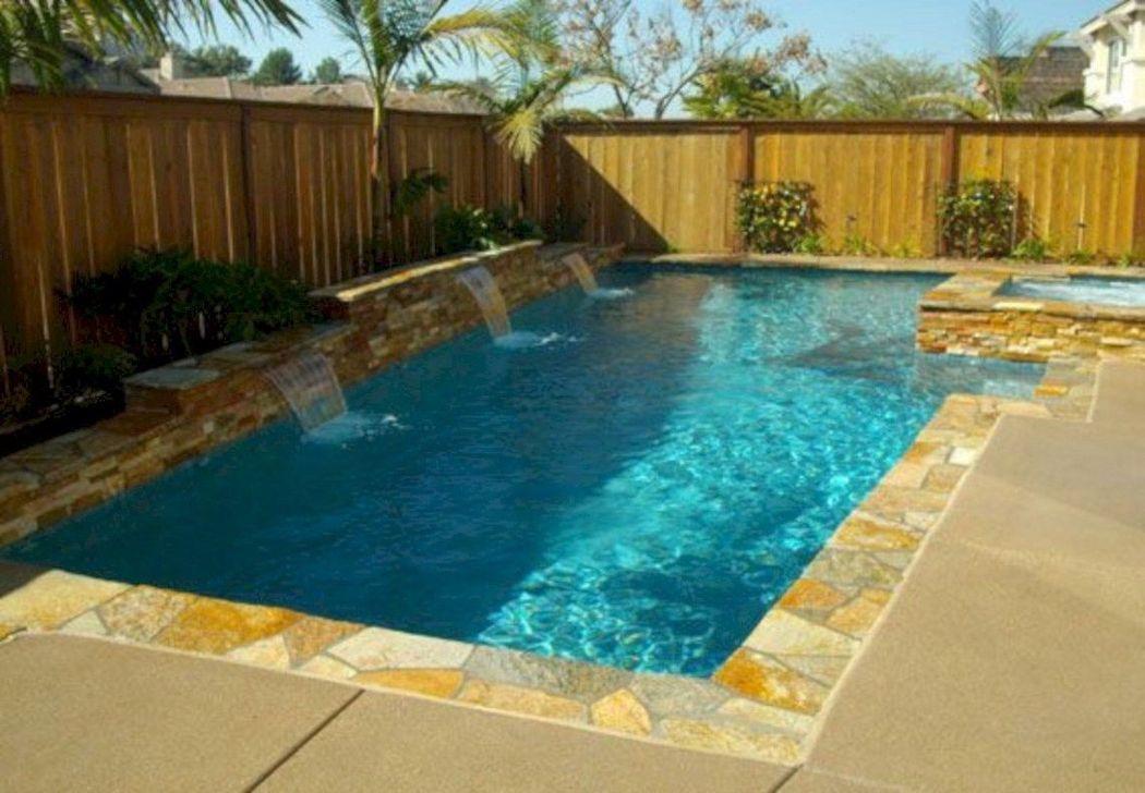 Gorgeous Summer Outdoor Pool Design Ideas 23