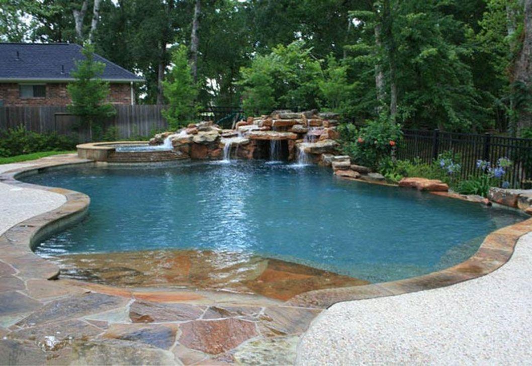 Gorgeous Summer Outdoor Pool Design Ideas 30