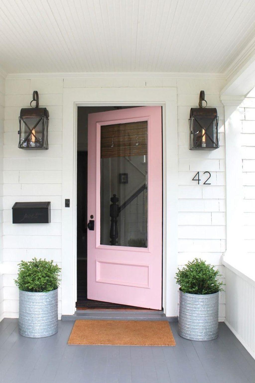 Inspiring Spring Planters Design Ideas For Front Door 12