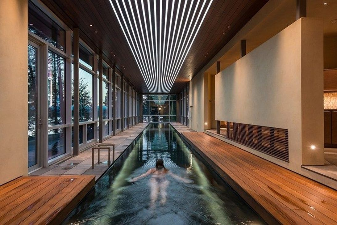 Lovely Small Indoor Pool Design Ideas 18