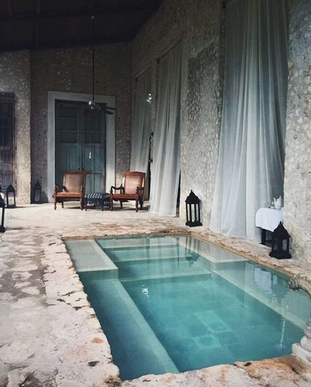 Lovely Small Indoor Pool Design Ideas 20