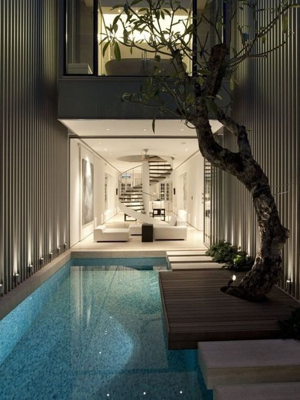 Lovely Small Indoor Pool Design Ideas 23