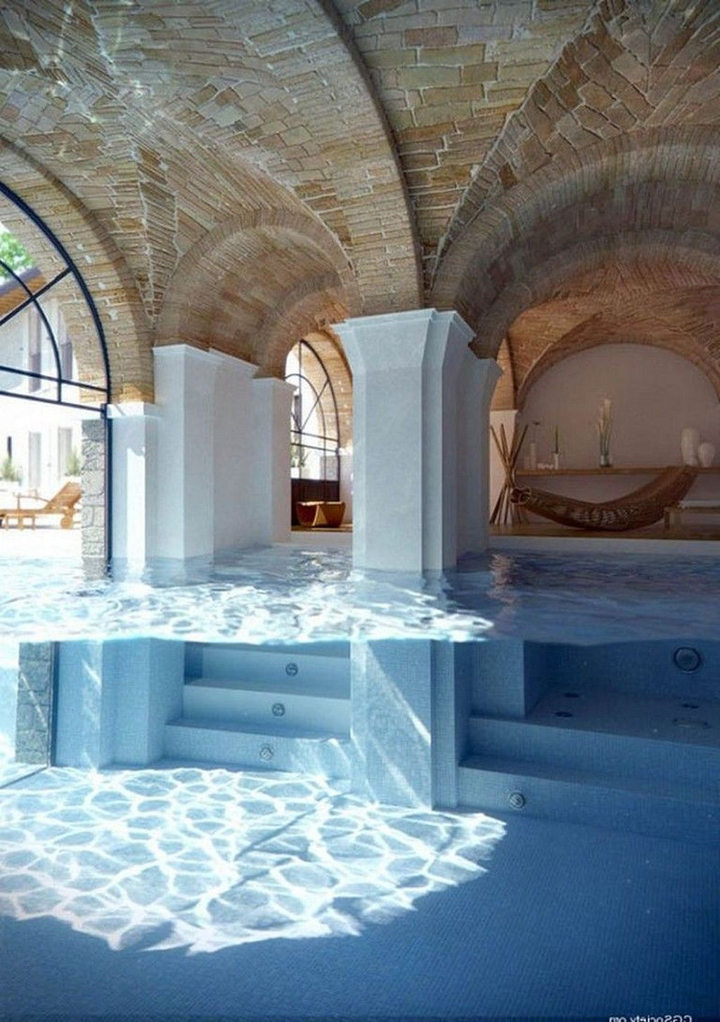 Lovely Small Indoor Pool Design Ideas 24