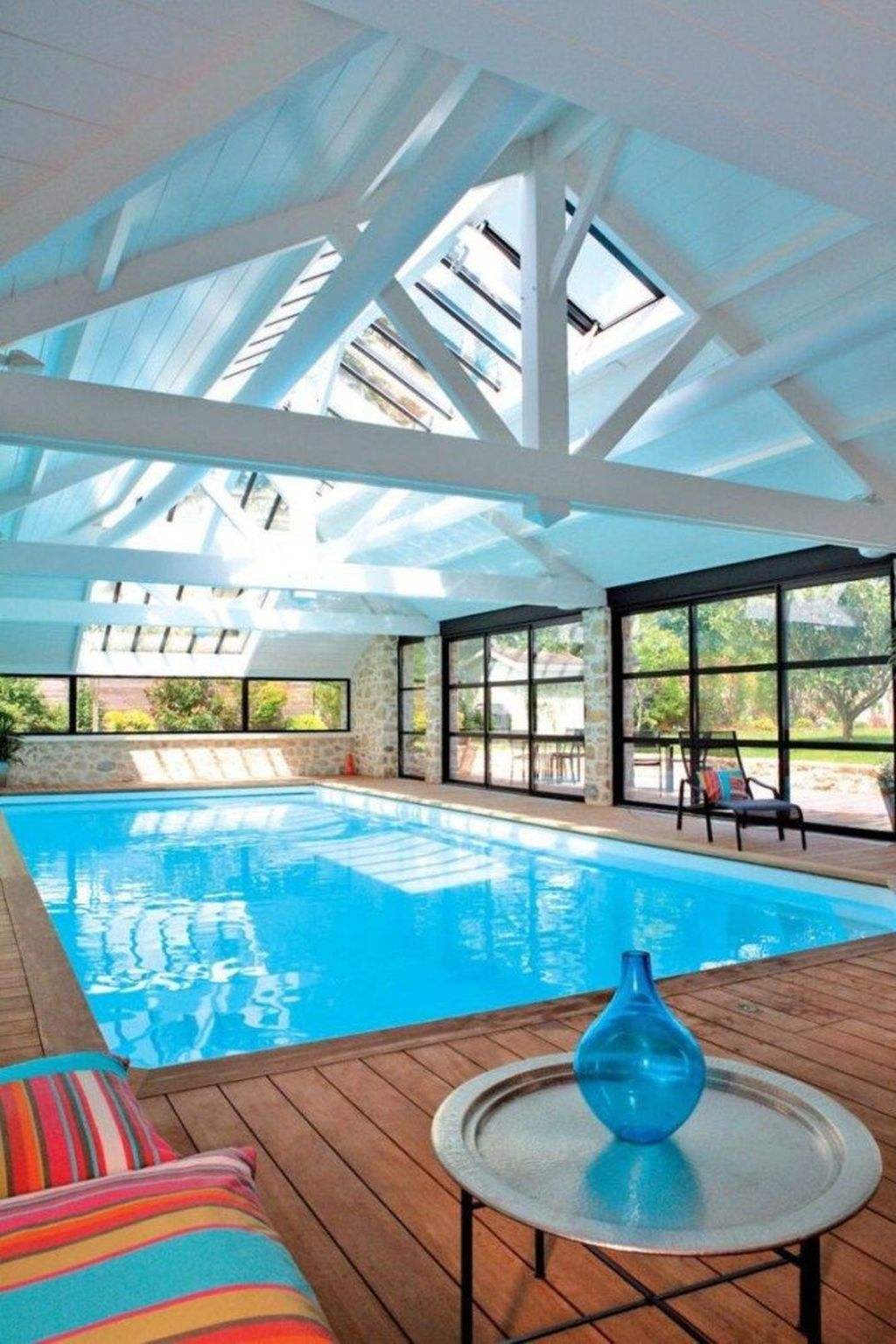 Lovely Small Indoor Pool Design Ideas 27