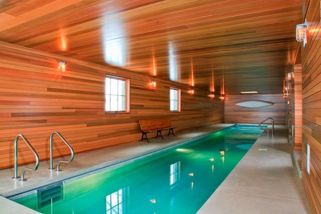 Lovely Small Indoor Pool Design Ideas 33