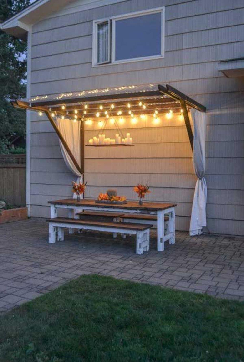 Stunning Summer Backyard Decoration Ideas 35