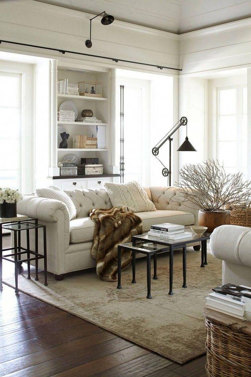 Amazing Bohemian Farmhouse Living Room Design Ideas 01