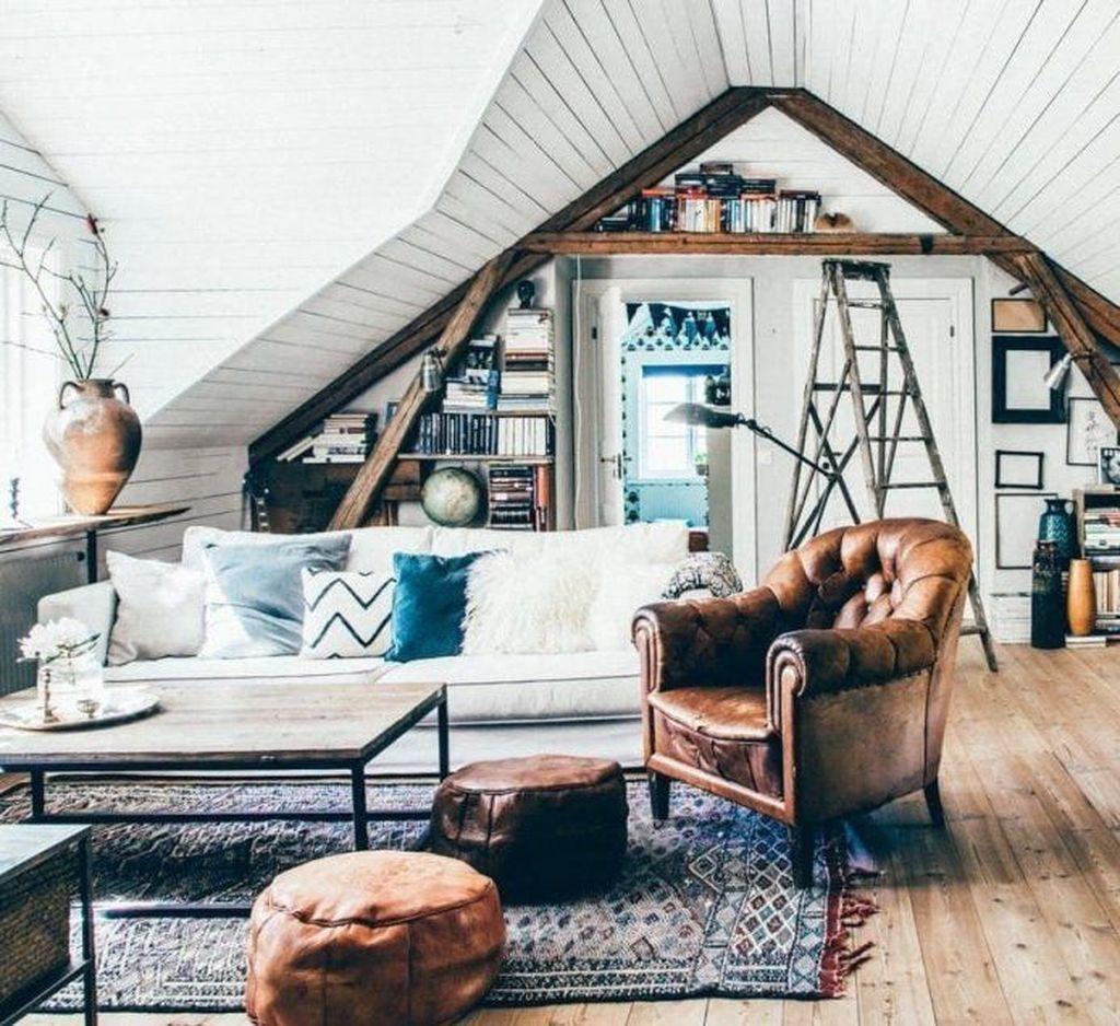 Amazing Bohemian Farmhouse Living Room Design Ideas 20