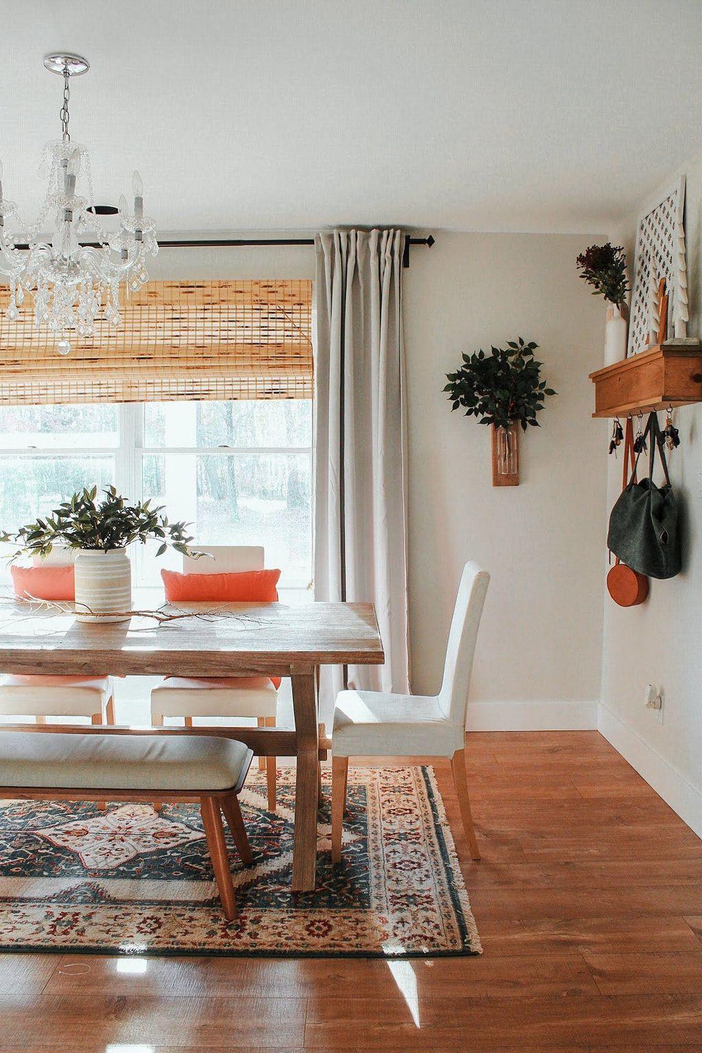 Amazing Bohemian Farmhouse Living Room Design Ideas 23