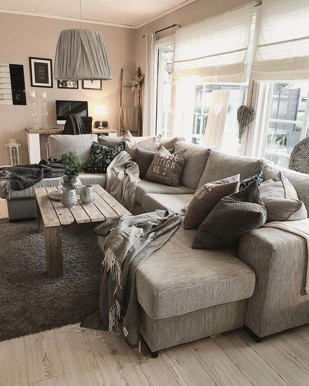 Amazing Bohemian Farmhouse Living Room Design Ideas 27