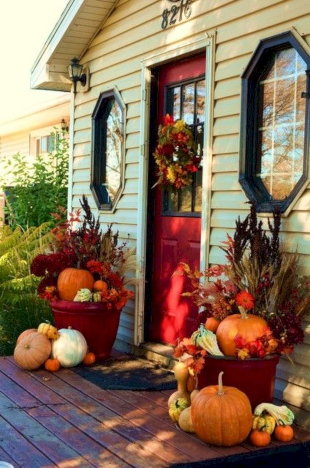 Amazing Fall Planter Ideas Best For Front Porches 01