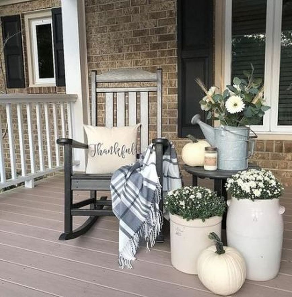 Amazing Fall Planter Ideas Best For Front Porches 06