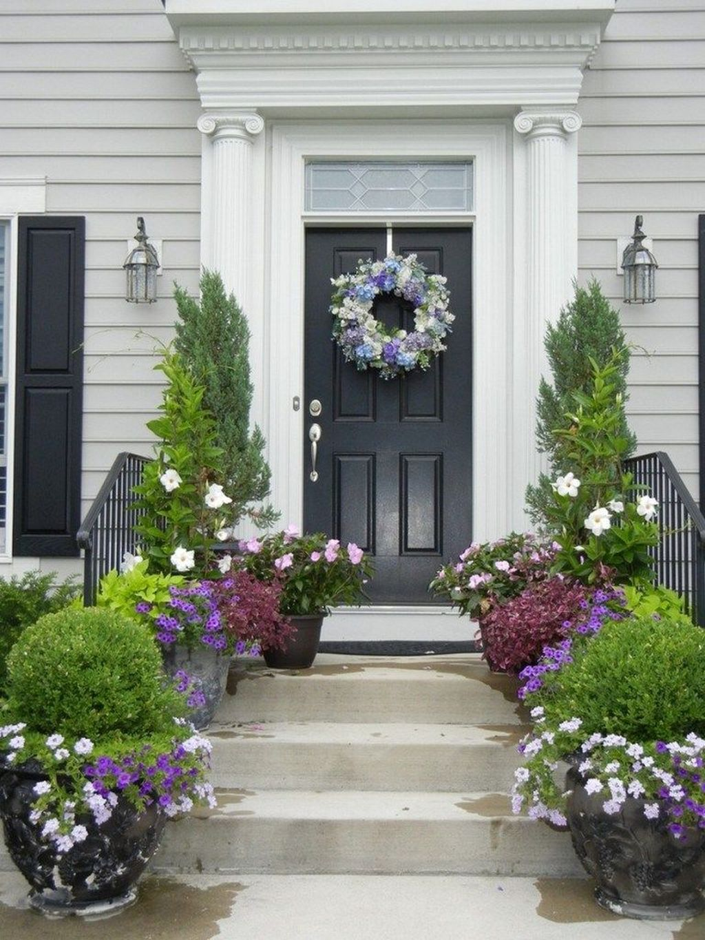 Amazing Fall Planter Ideas Best For Front Porches 19