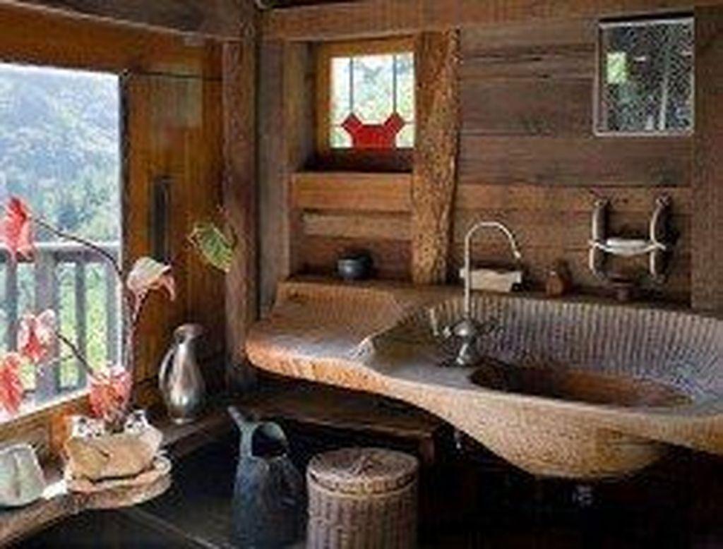 Amazing Rustic Barn Bathroom Decor Ideas 01