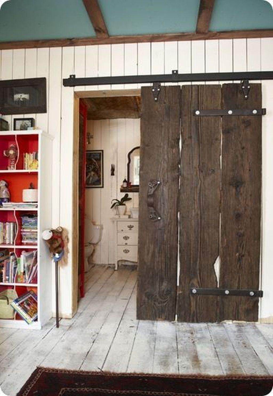 Amazing Rustic Barn Bathroom Decor Ideas 09