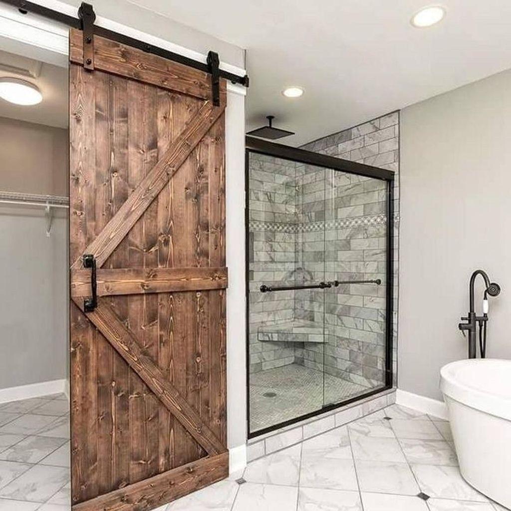 Amazing Rustic Barn Bathroom Decor Ideas 18