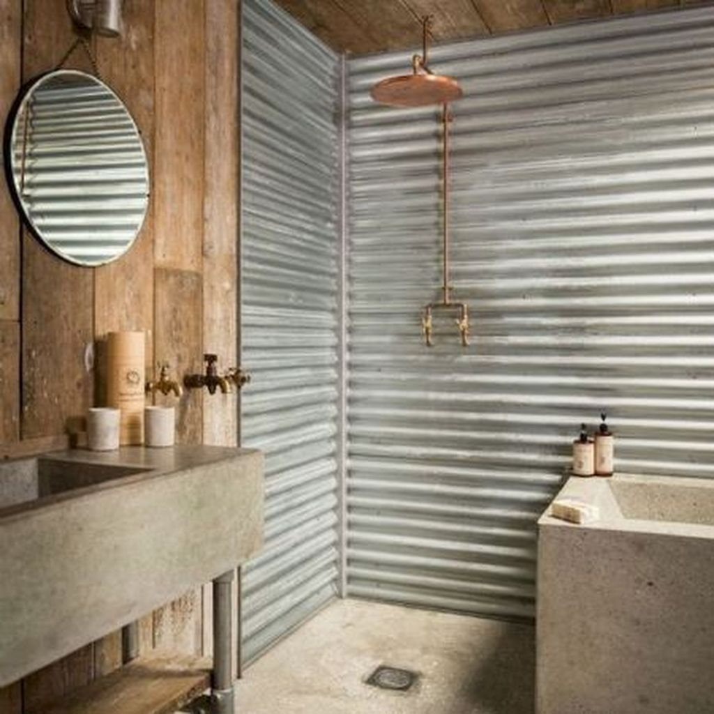 Amazing Rustic Barn Bathroom Decor Ideas 27