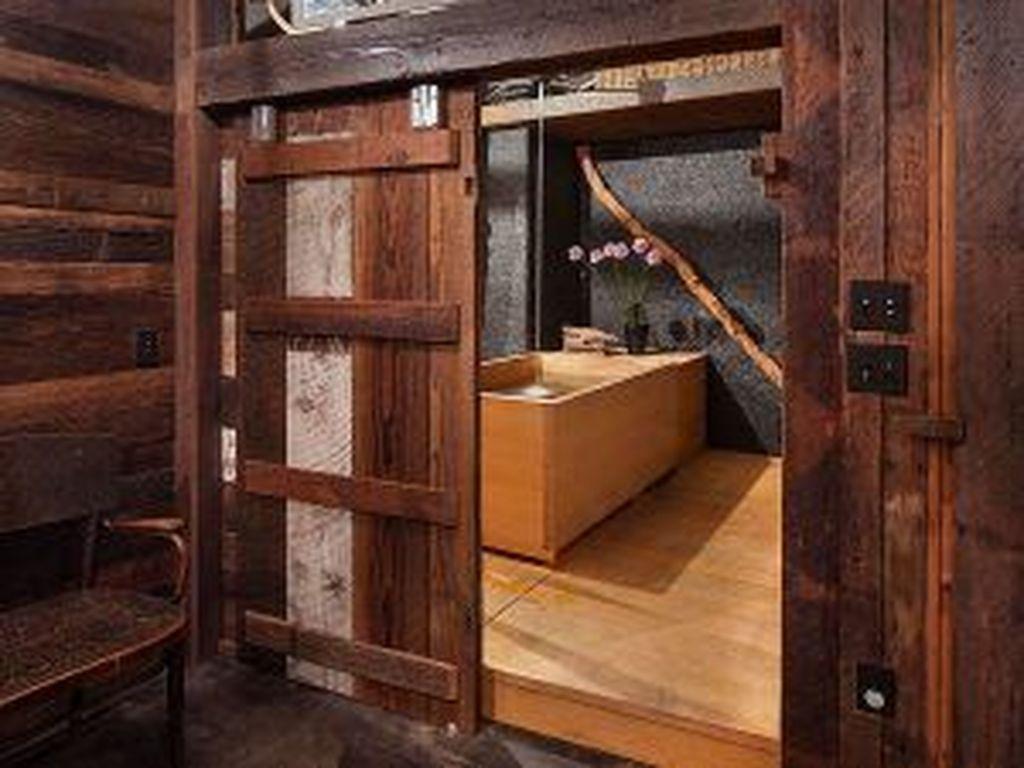 Amazing Rustic Barn Bathroom Decor Ideas 32