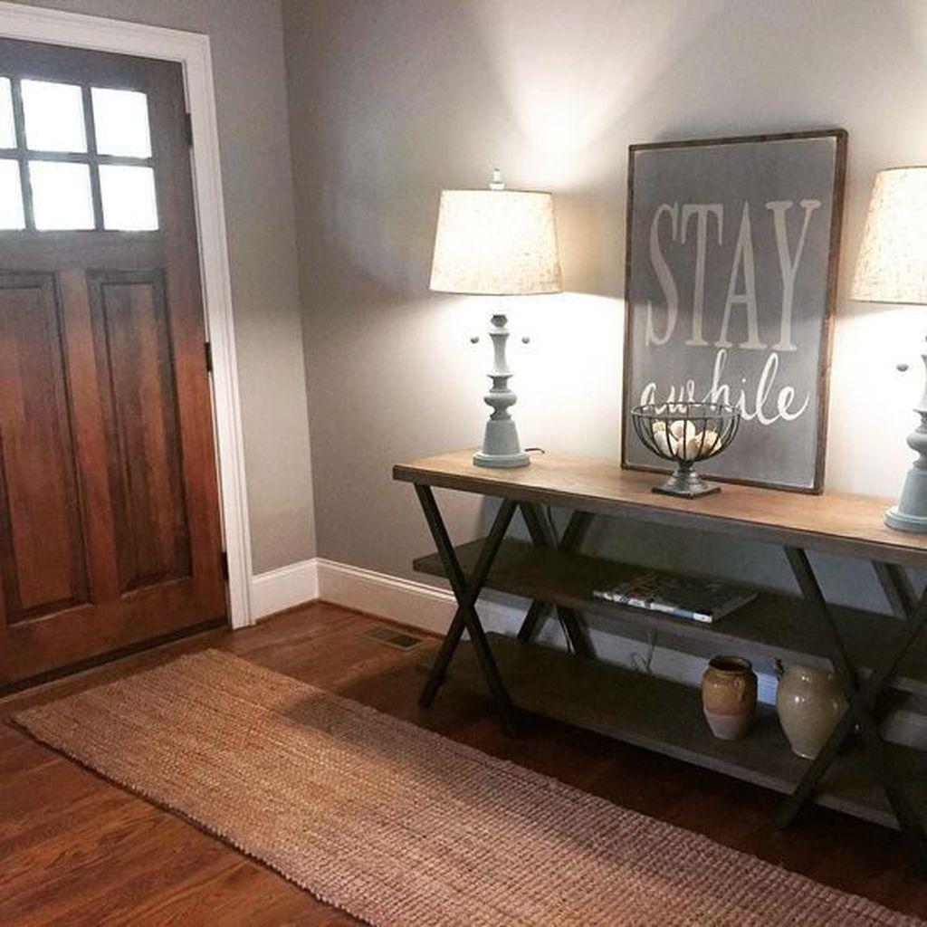 Amazing Small Entryway Decor Ideas 21