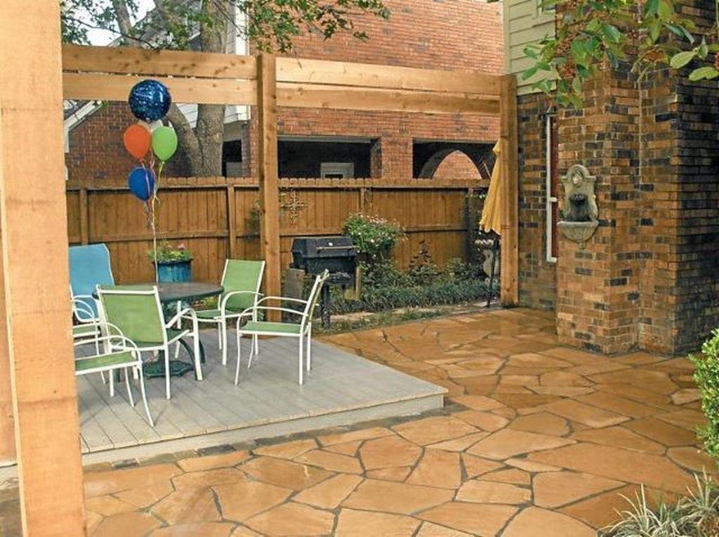 Awesome Flagstone Patio Design Ideas 04