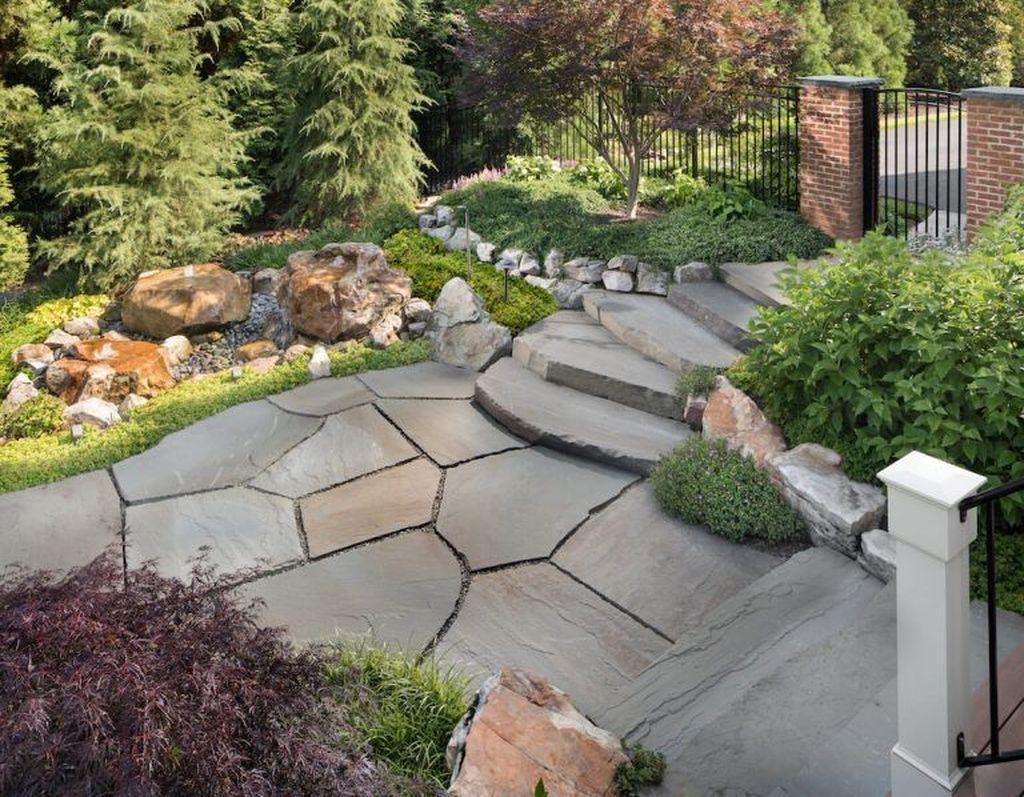 Awesome Flagstone Patio Design Ideas 38