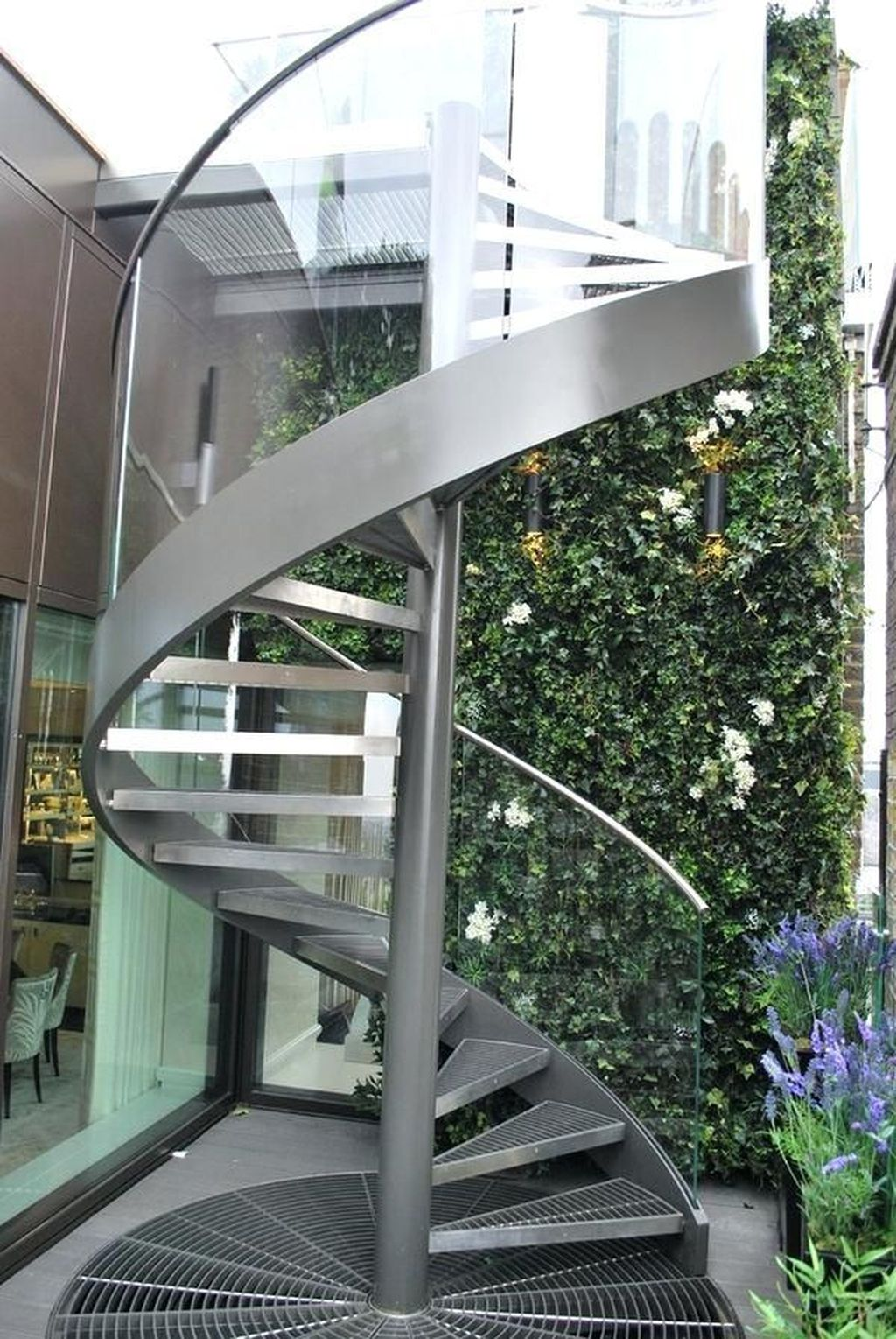 Awesome Modern Glass Railings Design Ideas For Stairs 01