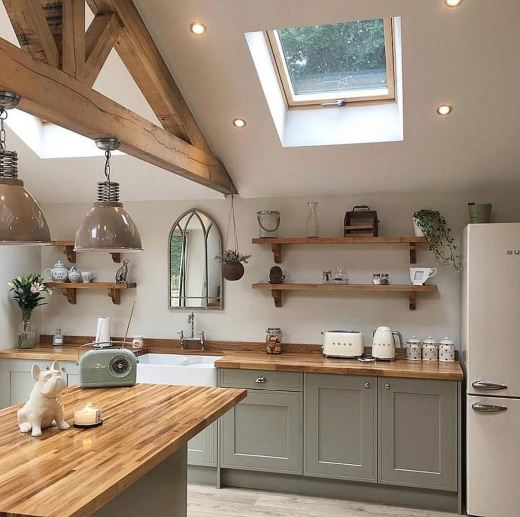 Awesome Retro Kitchen Design Ideas 18