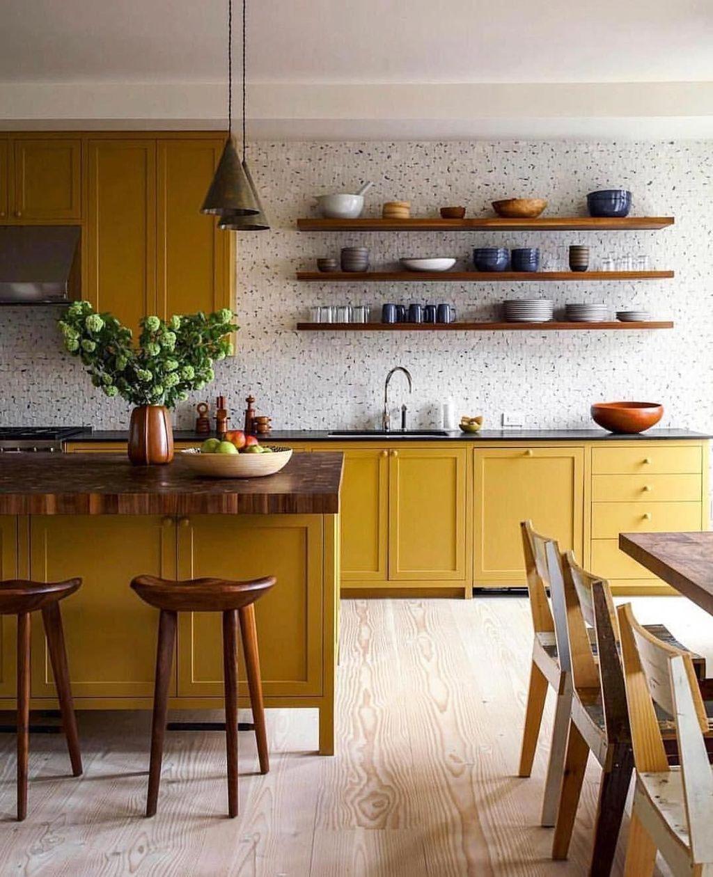 Awesome Retro Kitchen Design Ideas 20