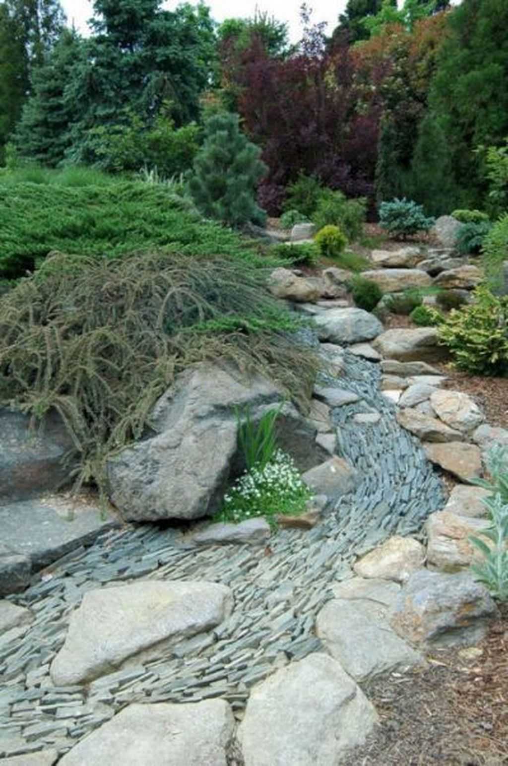 Awesome River Rock Landscaping Ideas 30