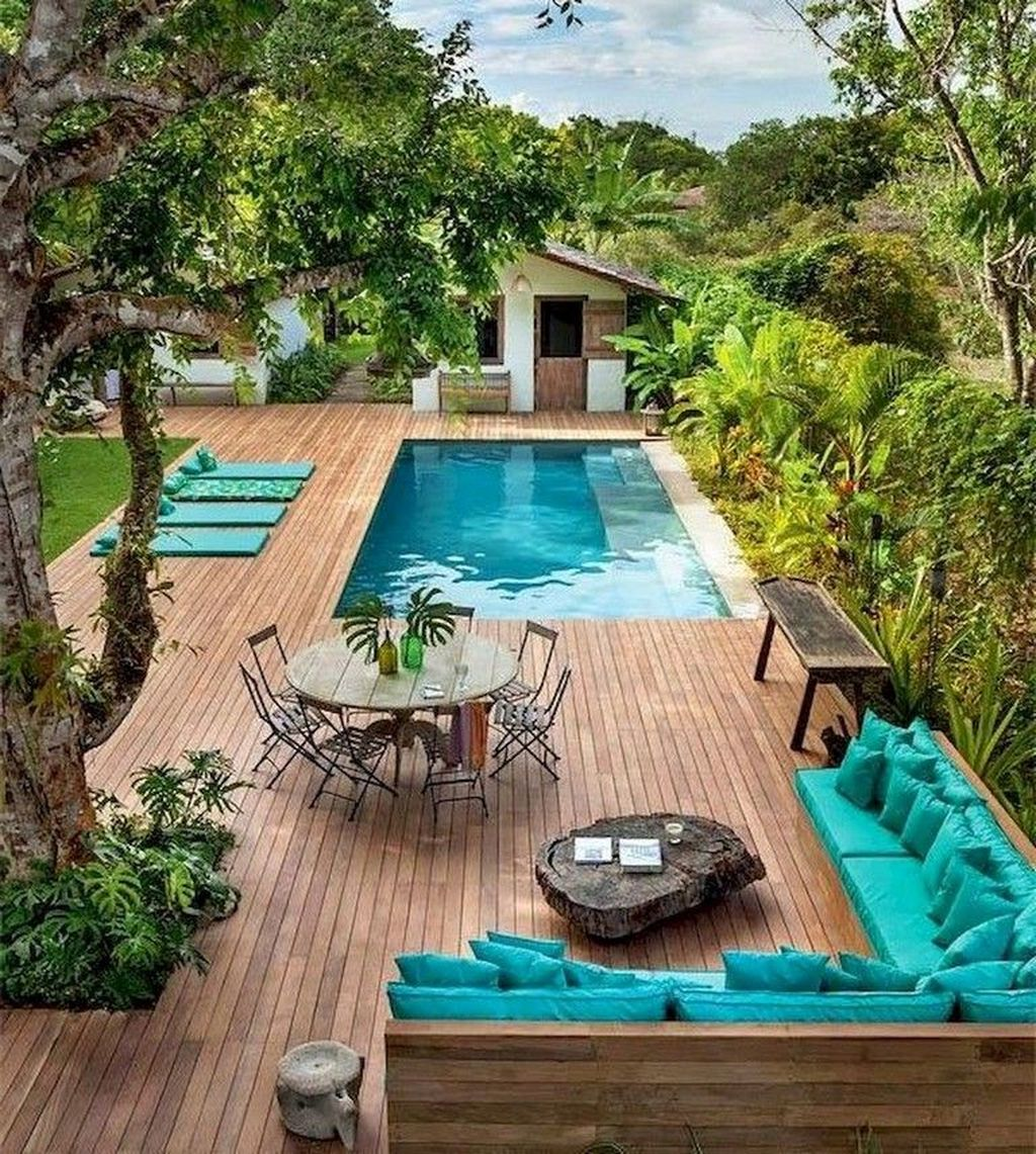 Awesome Small Pools Design Ideas For Beautiful Backyard Landscape 01