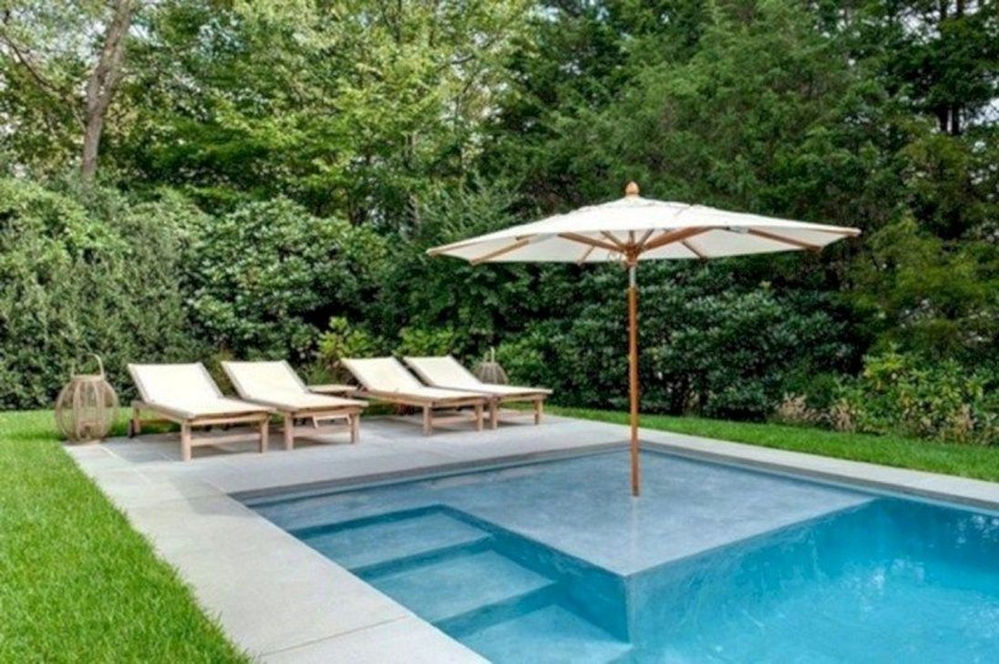 Awesome Small Pools Design Ideas For Beautiful Backyard Landscape 05