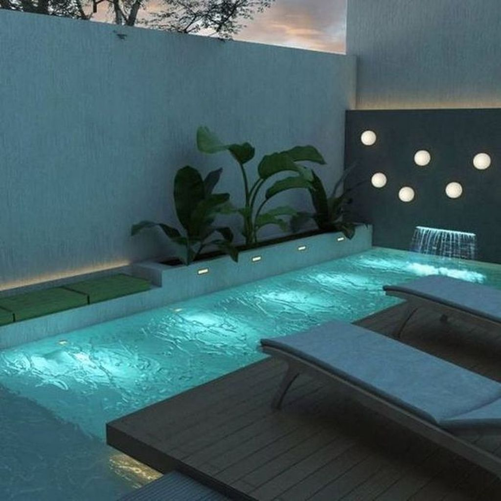 Awesome Small Pools Design Ideas For Beautiful Backyard Landscape 15