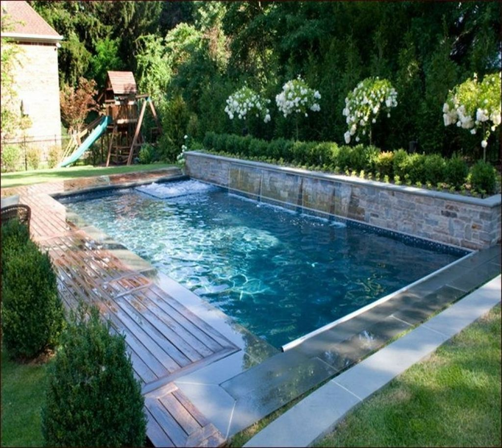 Awesome Small Pools Design Ideas For Beautiful Backyard Landscape 18