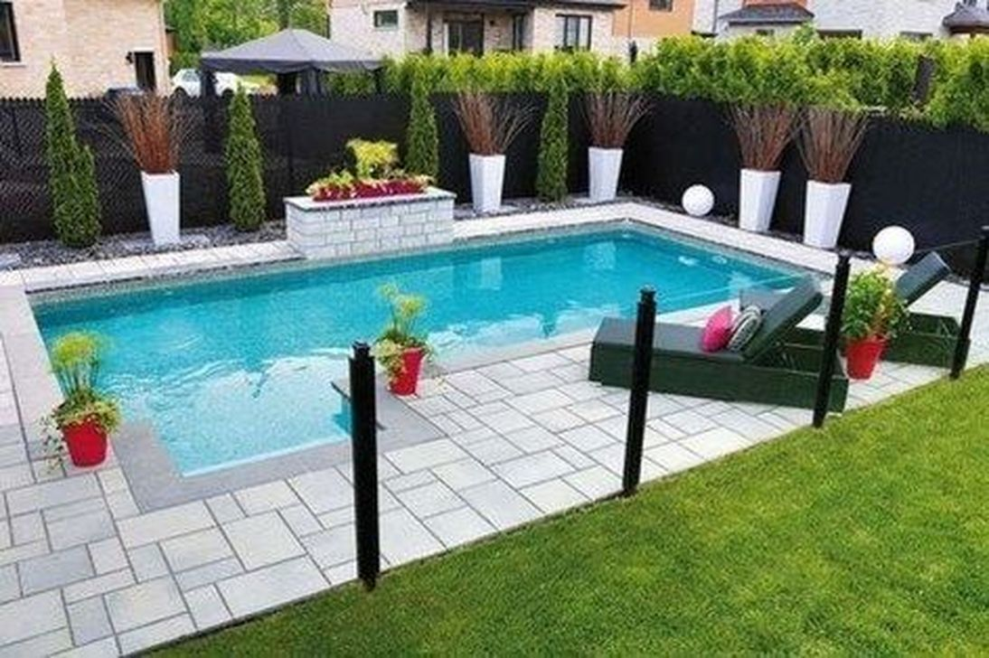 Awesome Small Pools Design Ideas For Beautiful Backyard Landscape 22