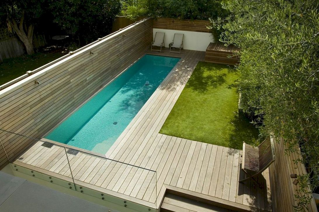 Awesome Small Pools Design Ideas For Beautiful Backyard Landscape 29