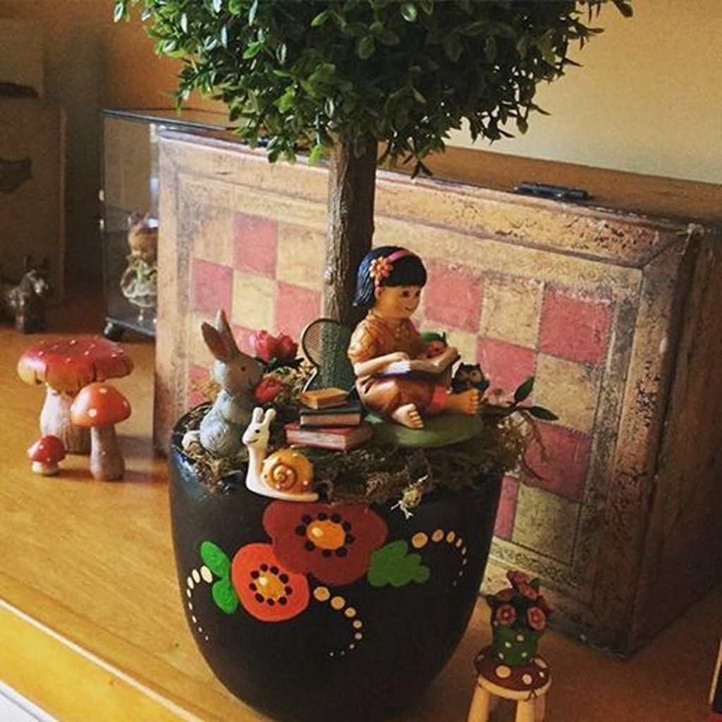 Beautiful Fall Fairy Garden Design Ideas 01