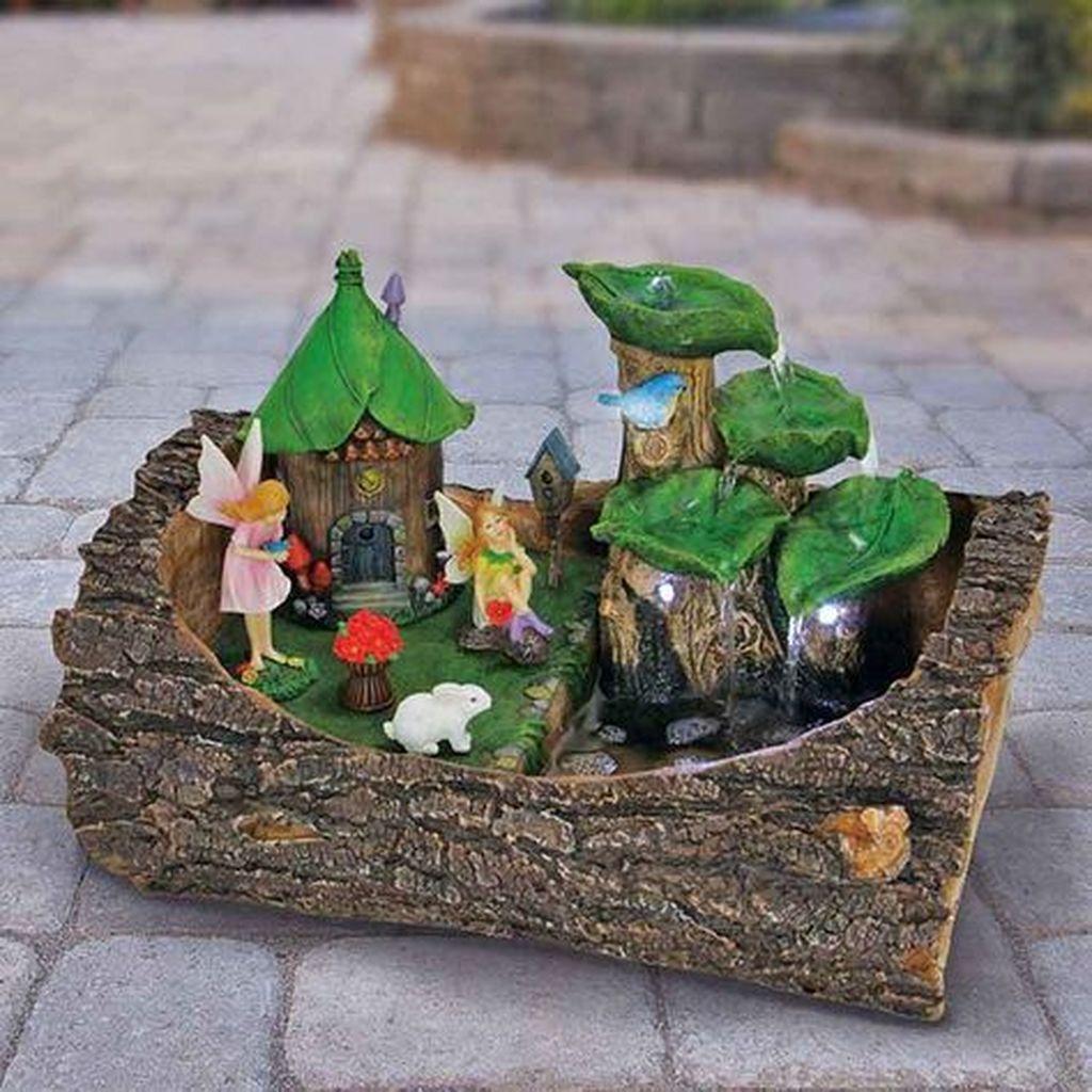 Beautiful Fall Fairy Garden Design Ideas 30