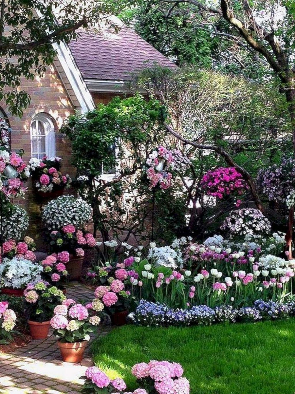 Beautiful Hydrangea Design Ideas Landscaping Your Front Yard 22