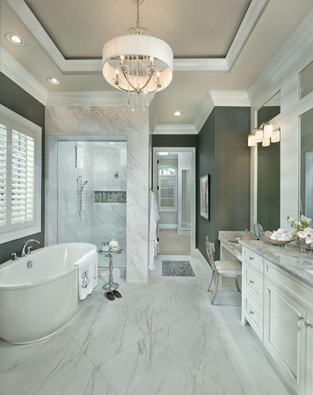 Beautiful Master Bathroom Design Ideas 22