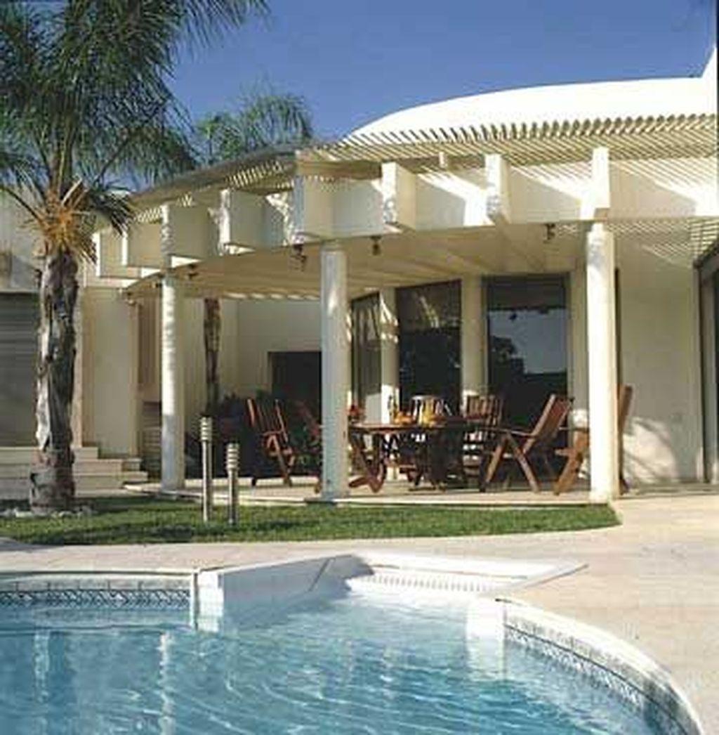 Fabulous Backyard Design Ideas With Western Style 28