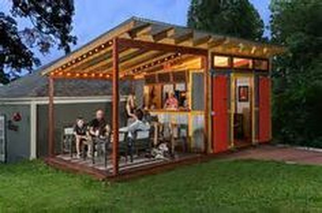 Fabulous Backyard Design Ideas With Western Style 32