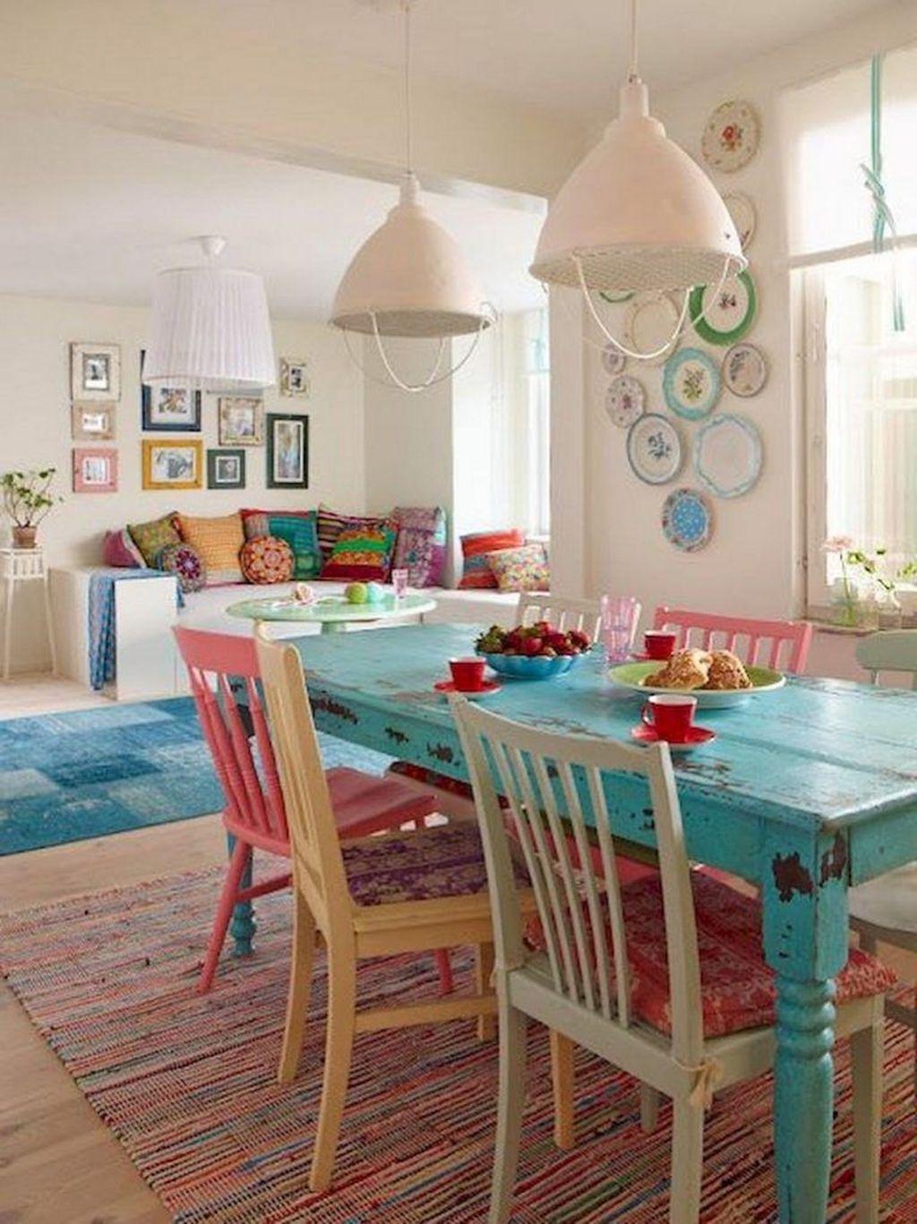 Fabulous Colorful Apartment Decor Ideas 23