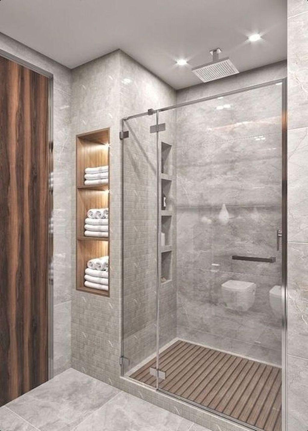 Fabulous Modern Master Bathroom Design Ideas 07