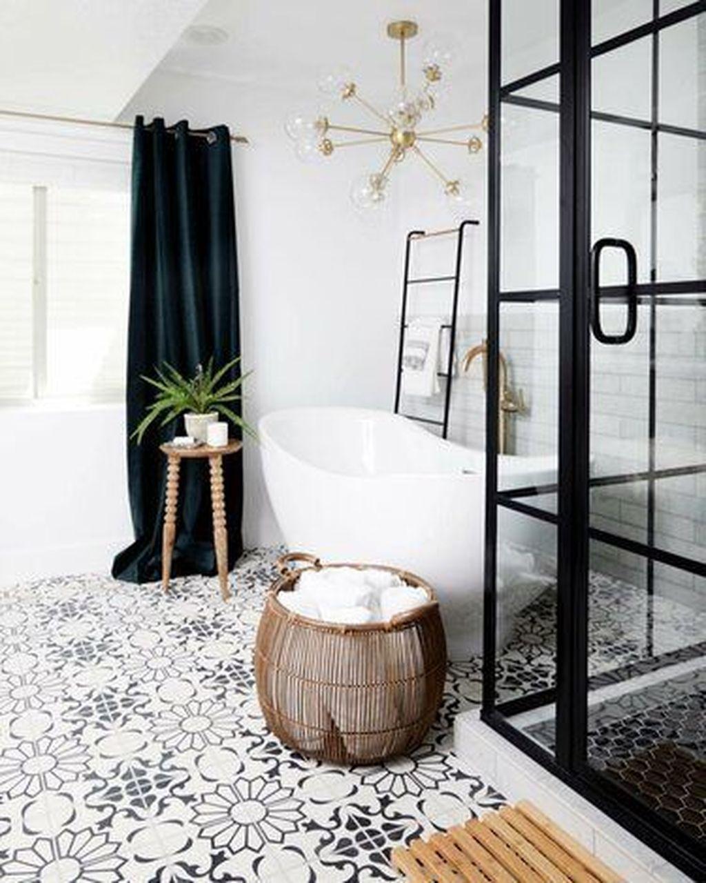Fabulous Modern Master Bathroom Design Ideas 13