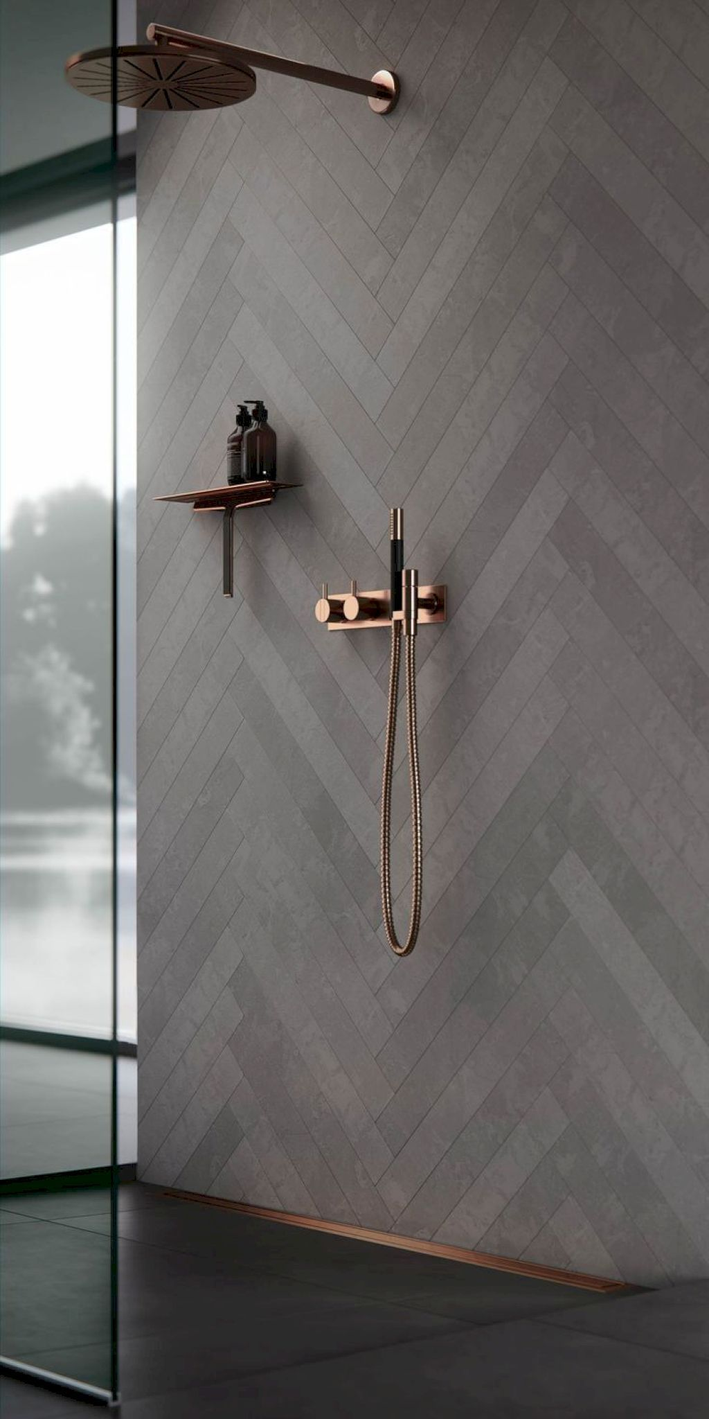 Fabulous Modern Master Bathroom Design Ideas 14