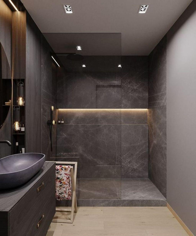 Fabulous Modern Master Bathroom Design Ideas 22