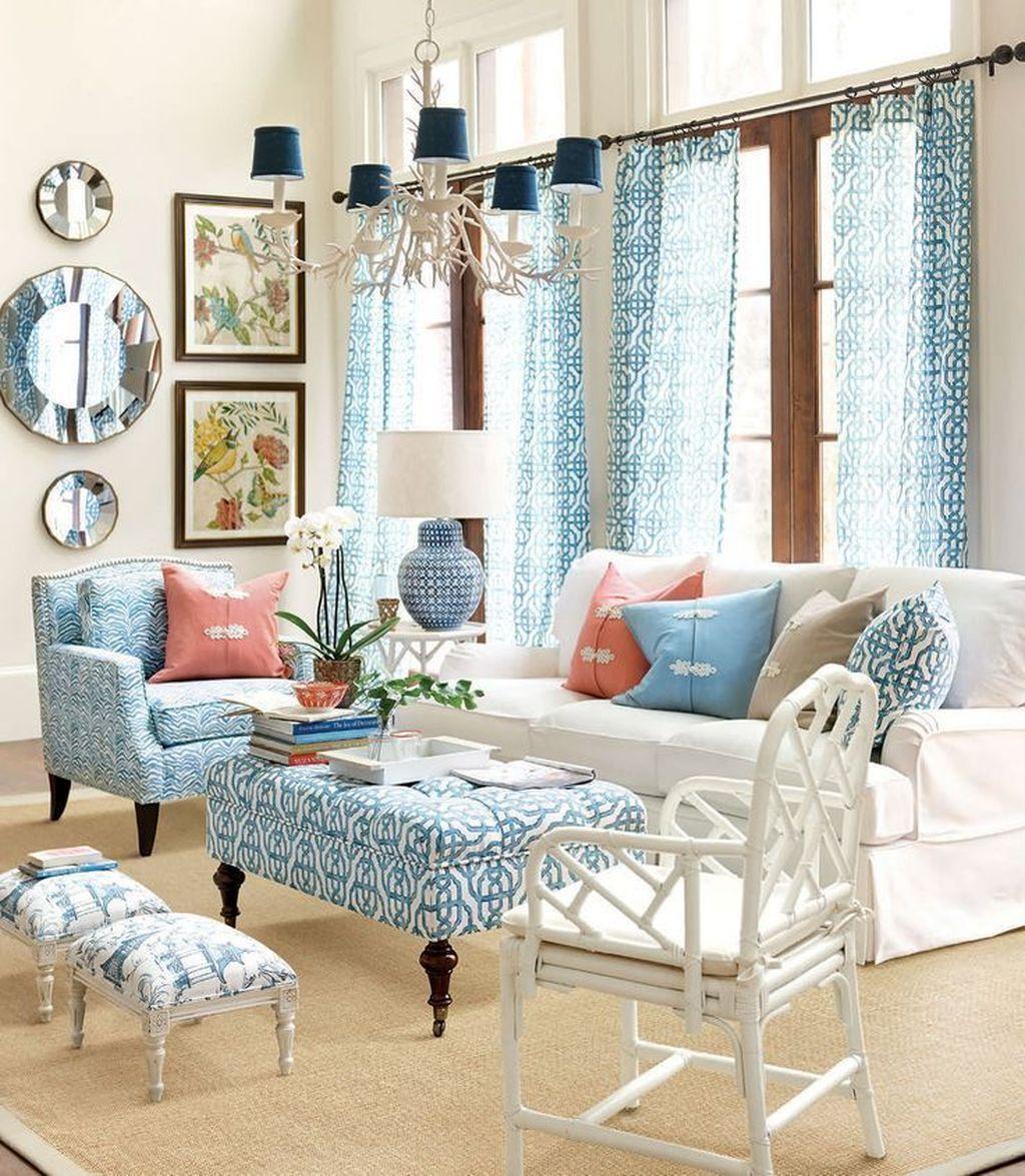 Fabulous Summer Living Room Decor Ideas 02
