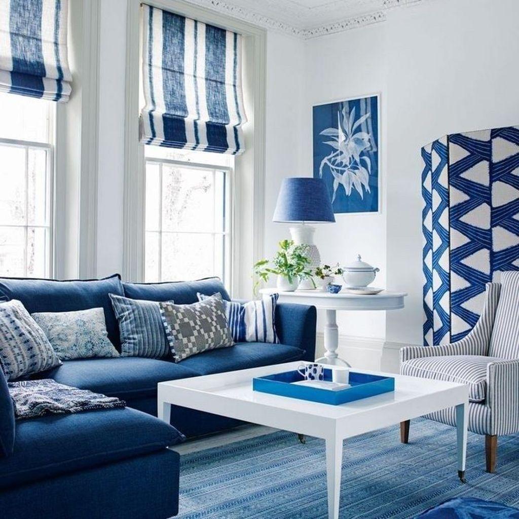Fabulous Summer Living Room Decor Ideas 11