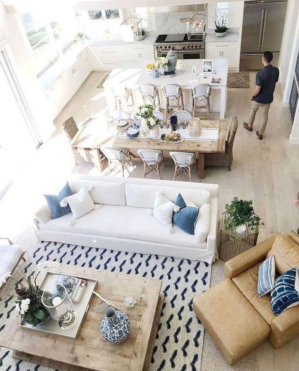 Fabulous Summer Living Room Decor Ideas 12