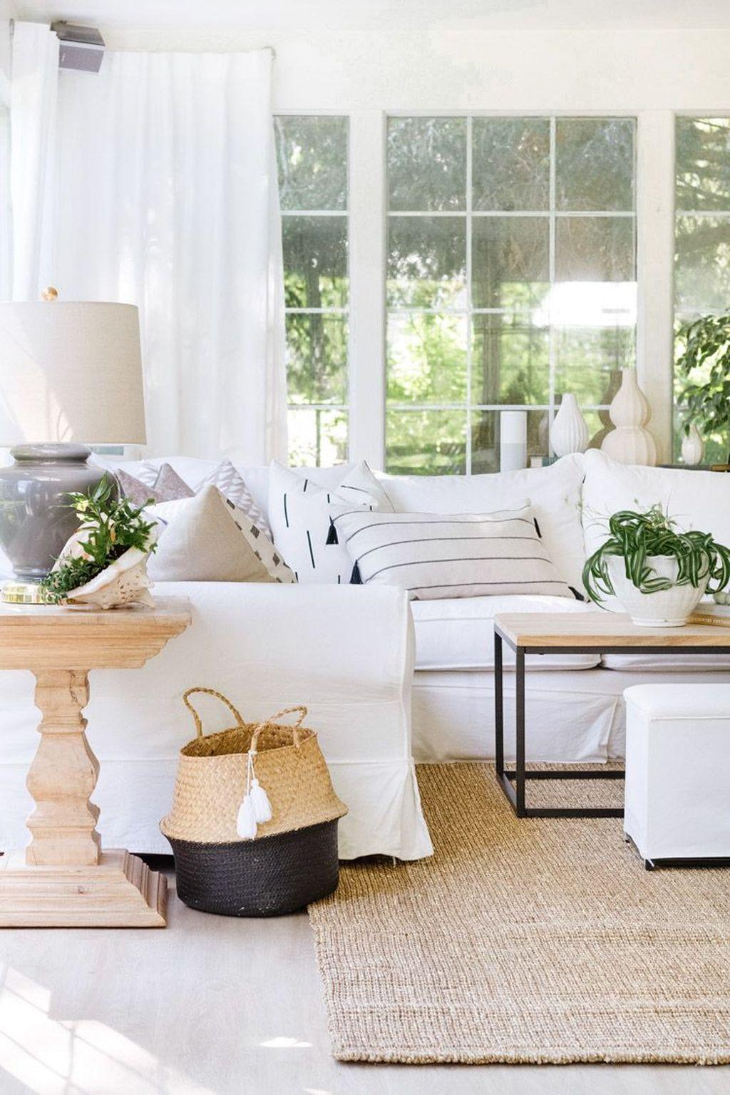 Fabulous Summer Living Room Decor Ideas 16